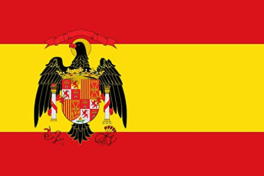 magFlags Bandera Large España 1977-1981 elaborada Conforme a la Siguiente descripción La Bandera Nacional con el Escudo de España es Rectangular | Bandera Paisaje | 1.35m&Sup: Amazon.es: Jardín