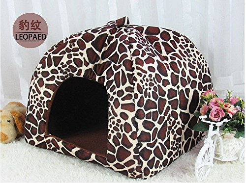 Charming Lovely Style Pink Cute Strawberry Shape Pet House Cat Dog Puppy Bed S