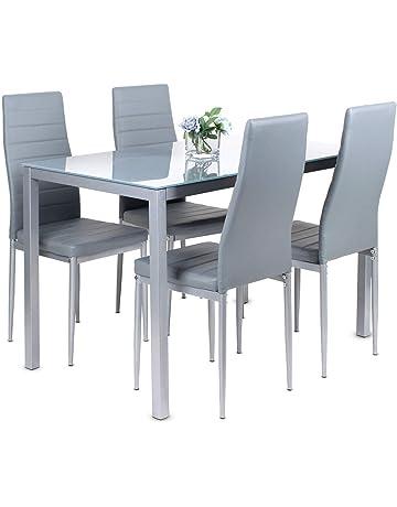 Marvelous Dining Table Sets Shop Amazon Uk Machost Co Dining Chair Design Ideas Machostcouk