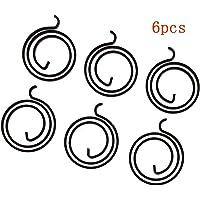 SALAKA 6Pcs Black 2.5 Turn Coil 3mm Thick