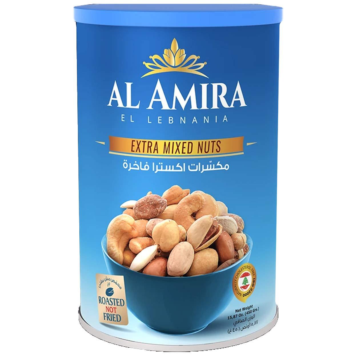 Al Amira Extra Nuts Mix (Lebanon) - 15.87 Oz / 450G - Non GMO