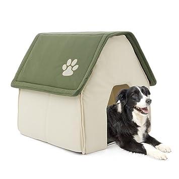 PAWZ Road Mascota Perro Gato casa Cama para tamaño Mediano y pequeño Mascotas: Amazon.es: Productos para mascotas