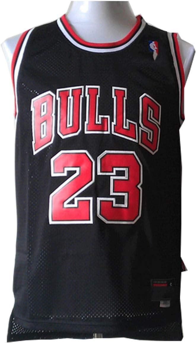 LinkLvoe Camiseta de Baloncesto NBA Michael Jordan # 23 Chicago Bulls para Hombres, los fieles Seguidores de Los Angeles Lakers y Lebron James no Deben perderse Esta Camiseta: Amazon.es: Jardín