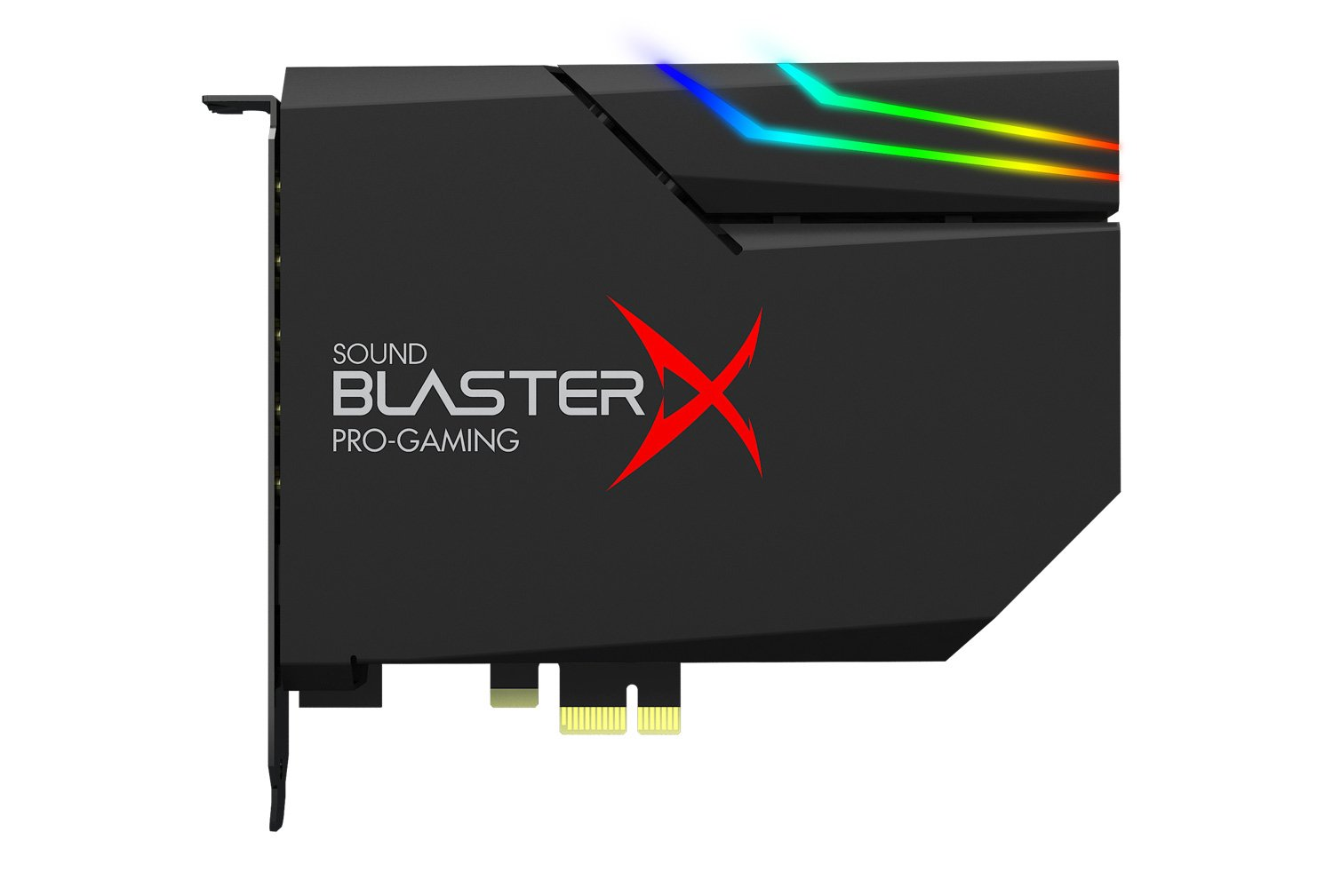 Sound BlasterX AE-5 Hi-Resolution PCIe Gaming Sound Card and DAC with RGB Aurora Lighting System by Creative