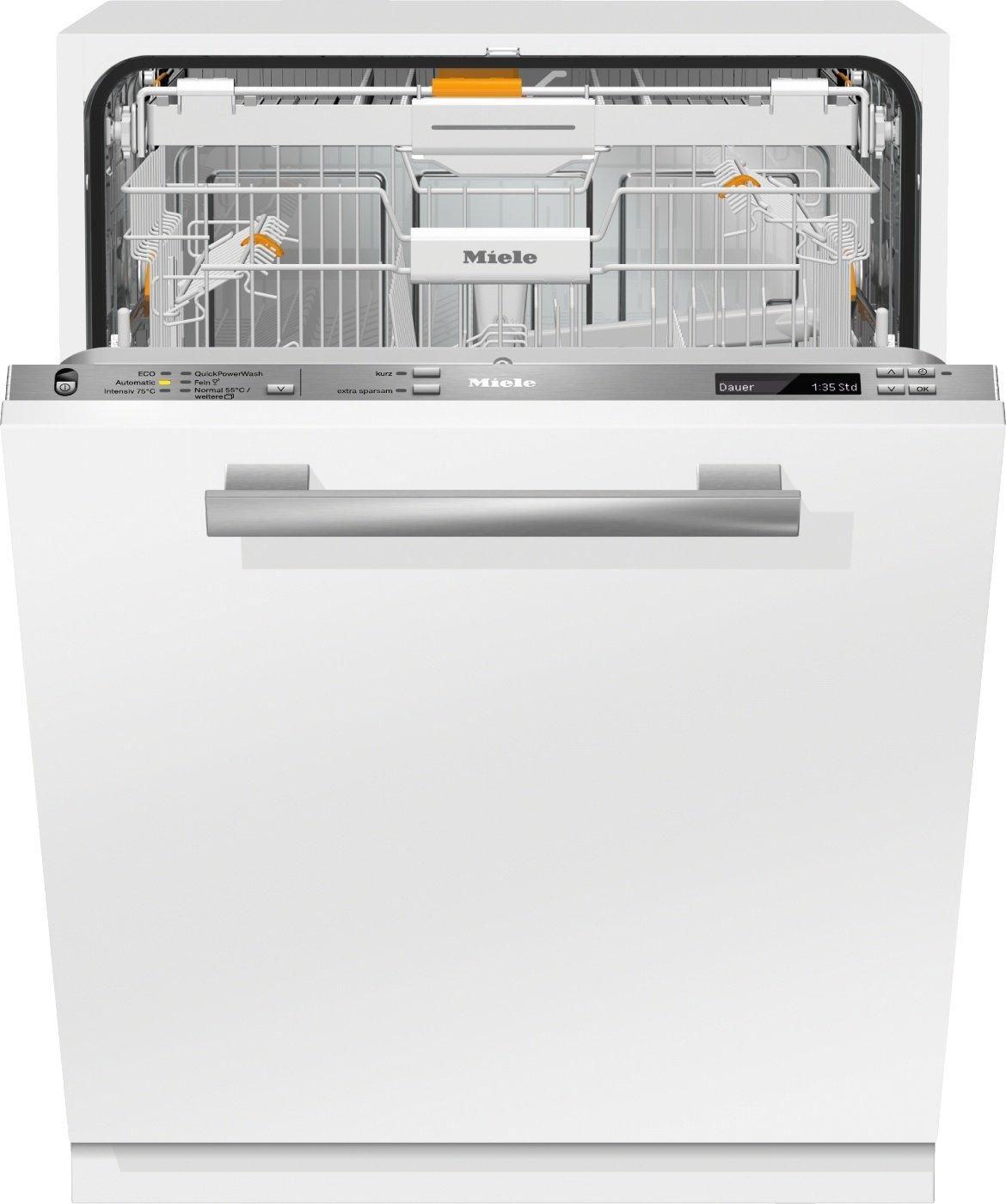 Miele G6775 SCVi XXL D ED230 2, 0 Geschirrspüler Vollintegriert / A+++ / 213 kWh / 14 MGD / QuickPowerWash / Alles restlos trocken AutoOpen-Trocknung [Energieklasse A+++] G6775 SCVi XXL D ED230 2