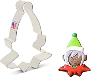 Ann Clark Cookie Cutters Elf Face Cookie Cutter, 4