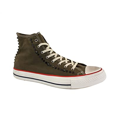83c6c23ae1f Converse Chuck Taylor All Star Studded 139915C Unisex Laced Canvas Trainers  Olive - 10  Amazon.co.uk  Shoes   Bags