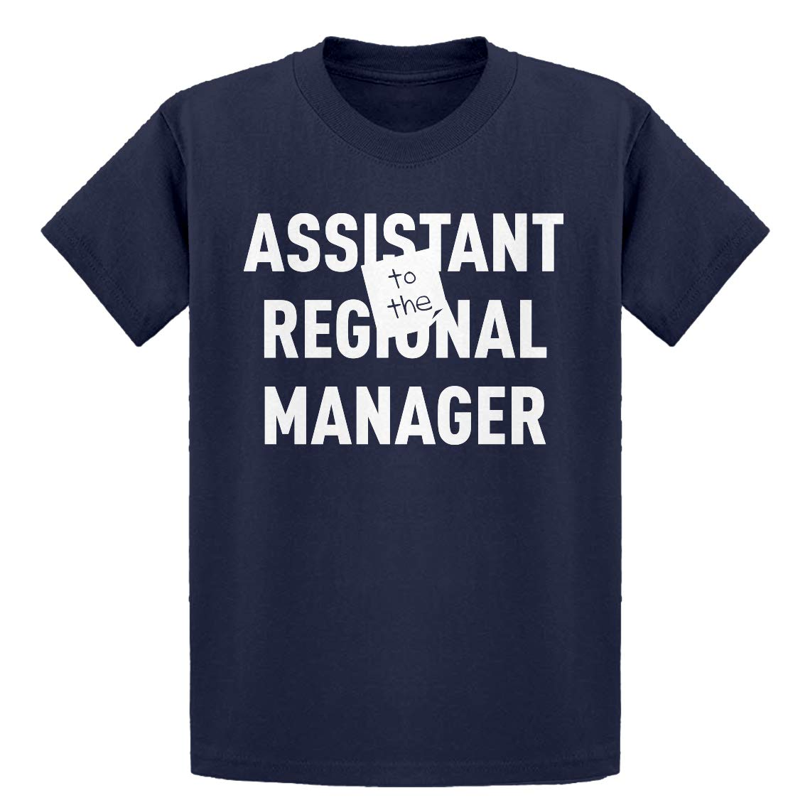 Indica Plateau Youth Assistant to The Regional Manager Kids T-Shirt