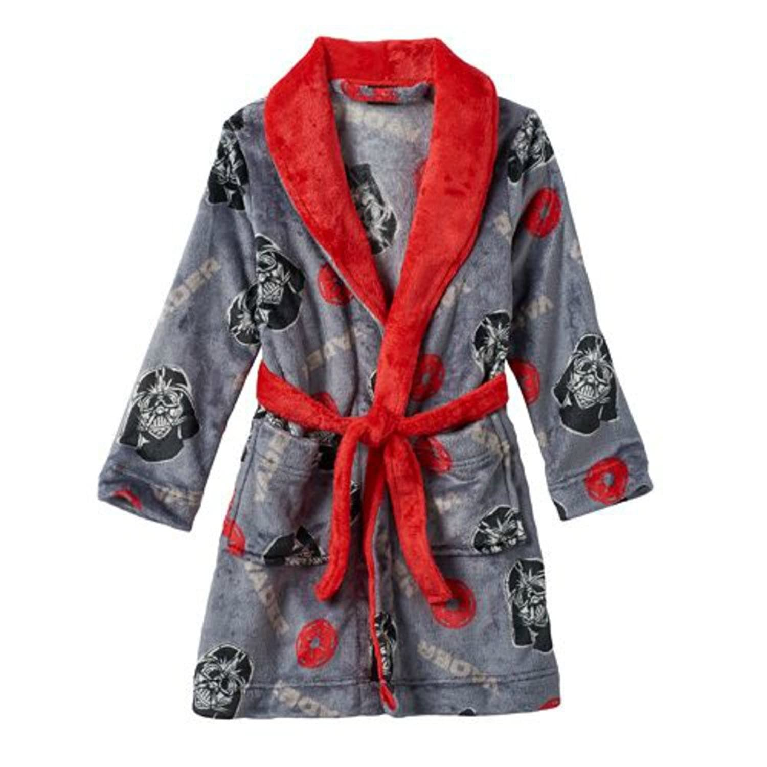 Star Darth Vader Toddler Bathrobe Image 1