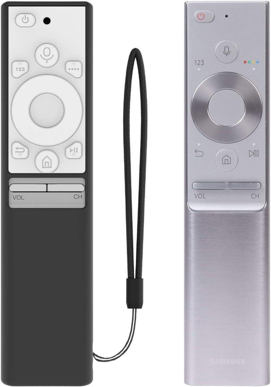 Carcasa de Silicona Antideslizante para Mando a Distancia Samsung BN59-01265A (Negro & Blanco): Amazon.es: Electrónica