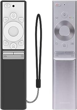 SIKAI CASE Carcasa de Silicona Antideslizante para Mando a Distancia Samsung BN59-01265A (Negro & Blanco): Amazon.es: Electrónica