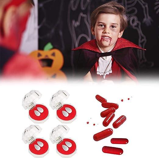arbitra 4 Cajas de Dientes de Vampiro + cápsulas de Sangre para ...