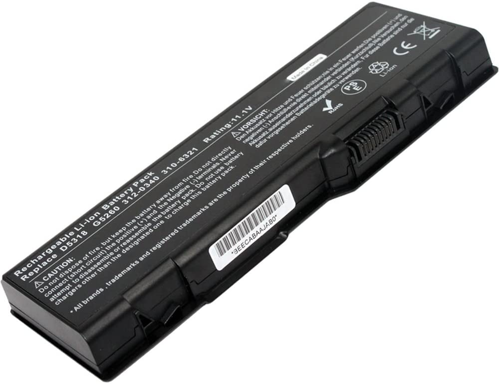 AC Doctor INC New 9 Cells 7800mAh Laptop Battery for Dell Inspiron 6000 9300 9400 D5318 310-6321 US