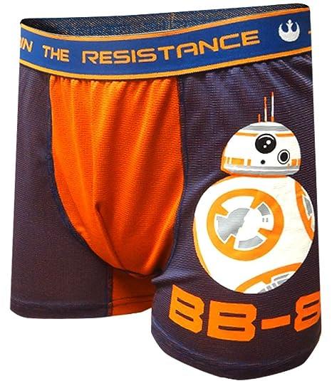 7c95e0e7b746 Amazon.com: Star Wars Join The Resistance BB-8 Performance Boxer ...