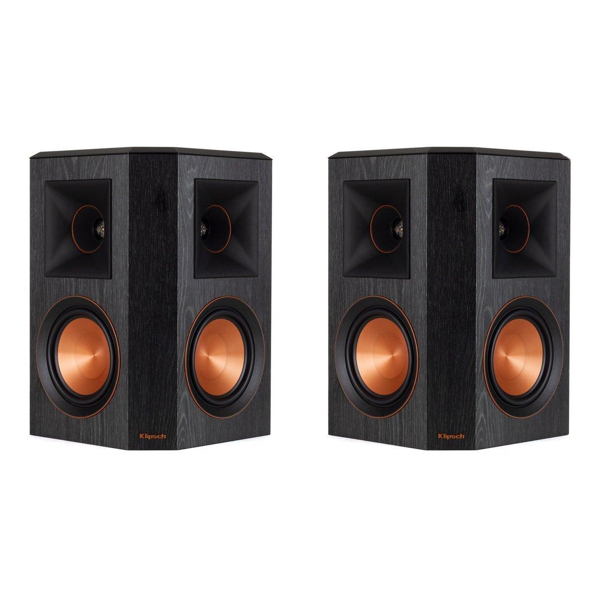 Klipsch RP-502S Surround Sound Speakers (Pair) (Ebony)