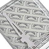 Plain Black Leather Metal Cigarette Case Holder Box
