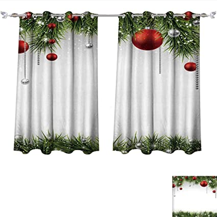 Amazon Com Total Blackout Grommet Curtains Christmas