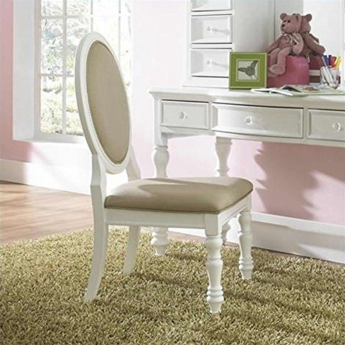 Samuel Lawrence Furniture SweetHeart Desk Chair in Bright White -