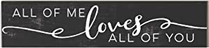 "Kindred Hearts All of Me Loves All of You Plaque, 3"" x 13"", Multicolor"