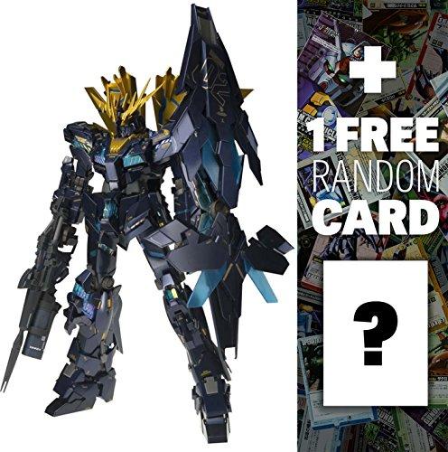RX-0(N) Unicorn Gundam 02 Banshee Norn: Gundam Fix Figuration Metal Composite Action Figure + 1 FREE Official Japanese Gundam Trading Card Bundle