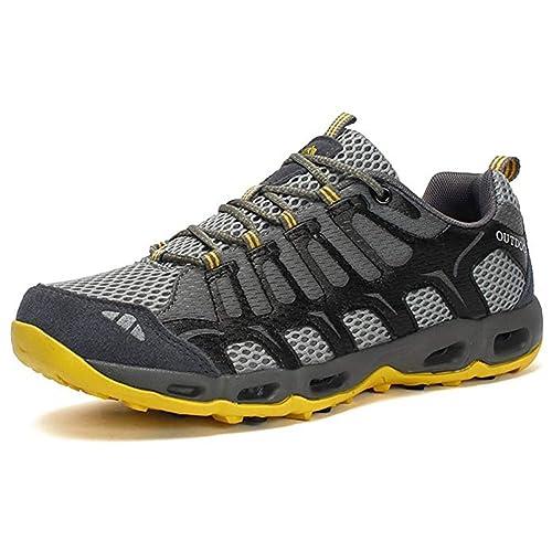 Zapatillas Trekking Mujer Calzado Deportivo Hombres Antideslizante Zapatillas Senderismo Transpirable Exterior Calzado Senderismo: Amazon.es: Zapatos y ...