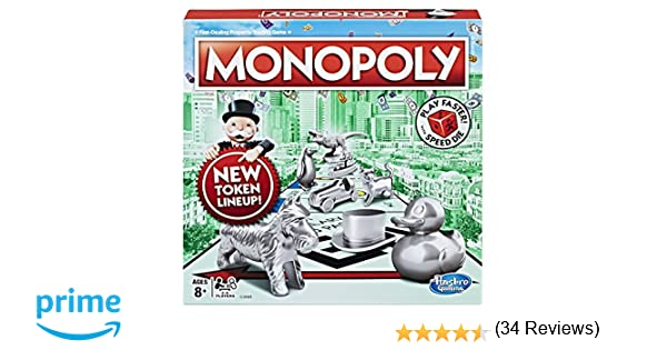 Hasbro Gaming Monopoly Speed Die Edition - Amazon Exclusive
