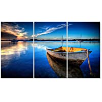 JH Lacrocon Super Car Canvas Art Wall Decor 120X70 cm (Approx. 48X28 inch) Photo Automobile Poster Print Picture Approx.16x28 inch x 3 Pieces