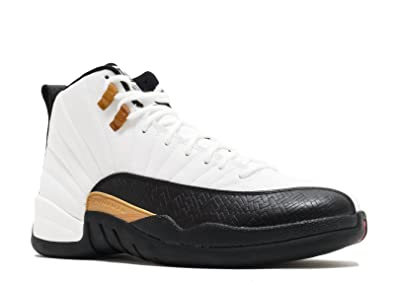 08d79ef236a474 Jordan Nike Mens Air 12 Retro CNY Chinese New Year White Black-Varsity Red