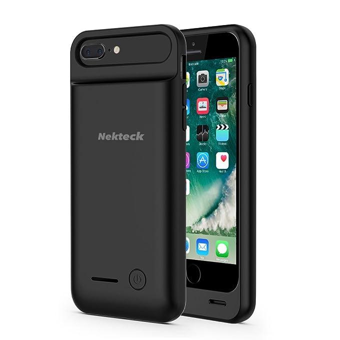 Amazon Com Nekteck Iphone 8 Plus 7 Plus Battery Case 4000mah