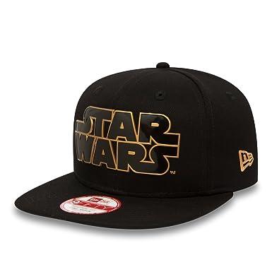 dc53ebf4c85 New Era Cap - 9fifty Star Wars Tpu Word black size  S M  Amazon.co.uk   Clothing