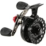 Lixada 4+1 Ball Bearing 2.6:1 Gear Ratio Right/Left Hand Raft Fishing Reel Fly Reel Wheel Ice Fishing Reel Star Drag Fishing Tackles with Storage Pouch