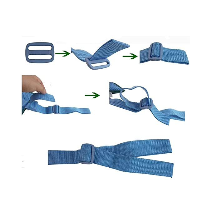 2pieces Dementia Glove Safety Hand Gloves,Hospital Medical Restraints Gloves,Safety Restraint Gloves Hand Protectors Personal Safety Devices Finger Control Mitts,Suitable for Any Hand Size