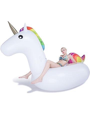 Jasonwell®Inflable Gigante de Unicornio Flotador Piscina Unicornio hinchable colchonetas piscina flotador unicornio piscina para