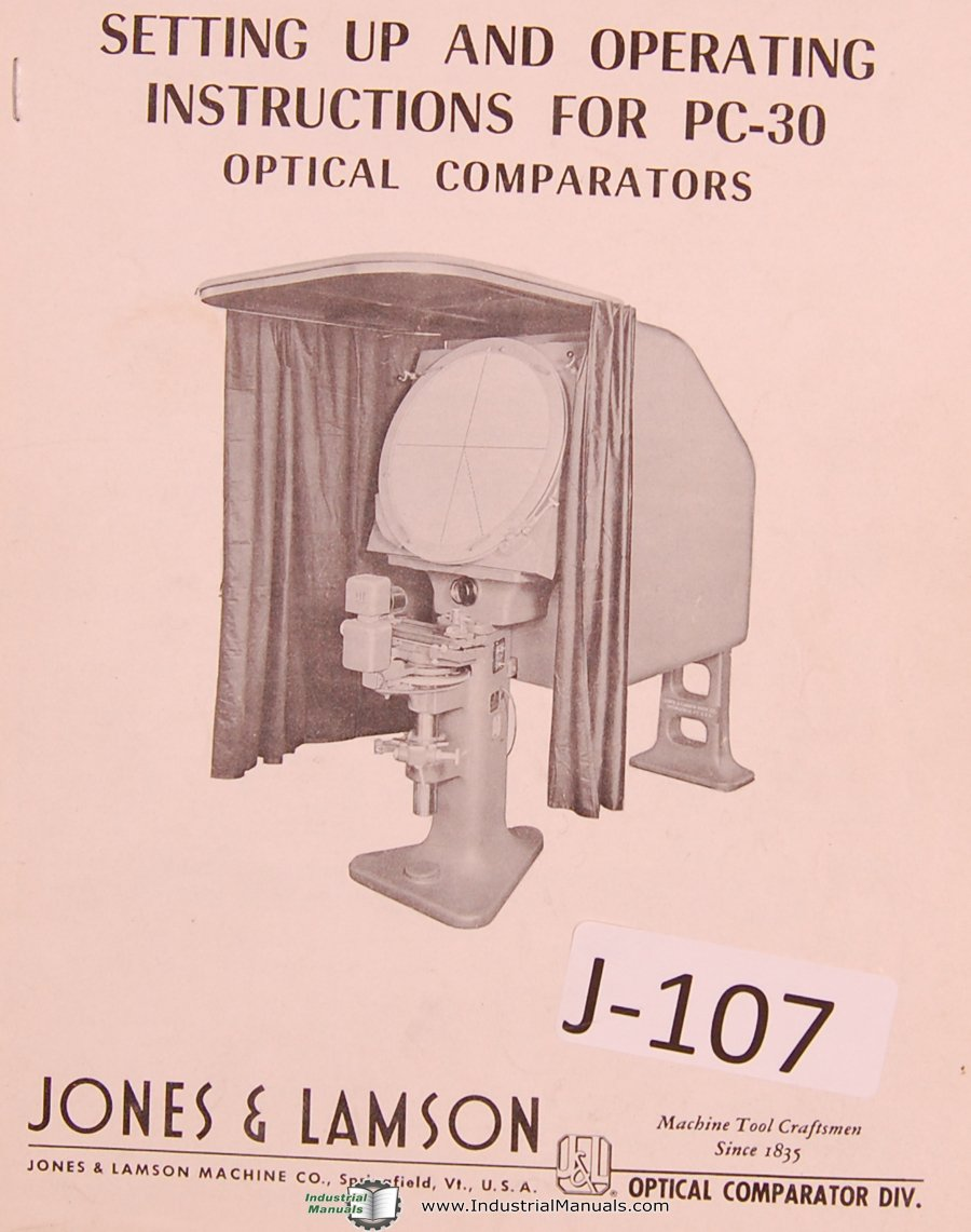 Covel no. 14 optical comparator manual | ebay.