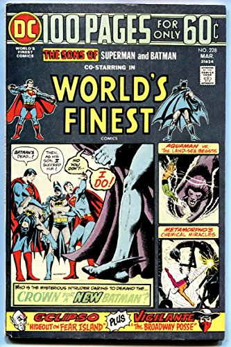 WORLD'S FINEST #228 1973 Superman, Batman, Aquaman-100 page giant vf