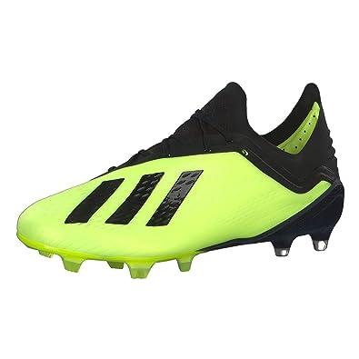 new products c4162 60f17 adidas Herren X 18.1 FG Fußballschuhe, Gelb (Amasol Negbás Ftwbla 001)