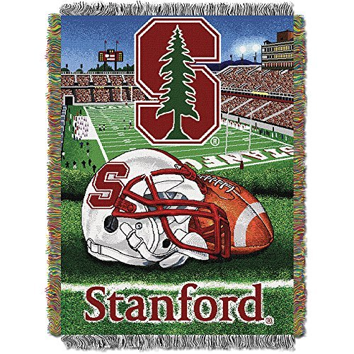 Northwest COL 051 HFA Stanford Cardinal NCAA Woven Tapestry Throw (Home Field Advantage) (48