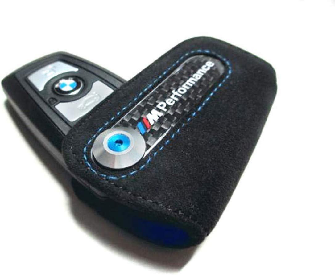 Original BMW M Performance Schlüsseletui aus Alcantara neues Schlüsseldesign