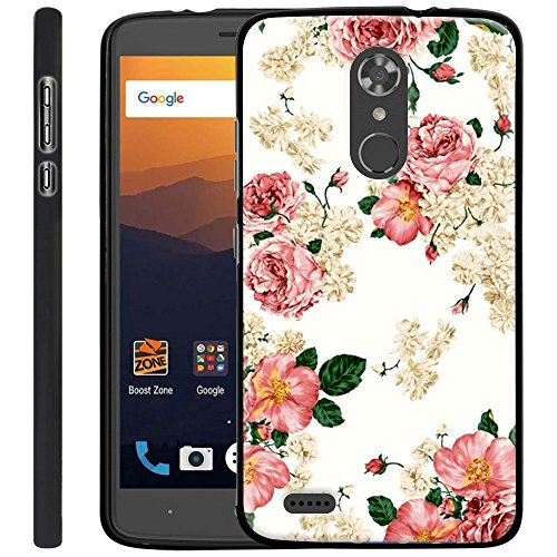 ZTE MAX XL Case, Harryshell Lightweight Slim Thin Tpu Gel Skin Flexible Soft Rubber Protective Case Cover for ZTE MAX XL N9560 (B-3)