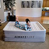 Bestway 67571E Spring Air Night Rest Airbed with AlwayzAire Technology Queen with Built-in Electric Pump