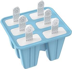 Adoric Life Reusable Ice Pop Maker 6 Pieces