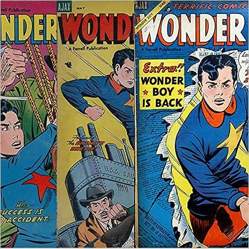 Download gratuito di libri epub Wonder Boy Issues 16, 17 and 15. Golden Age digital comics (Golden age Comics Book 45) B00PWVL5GK PDF PDB