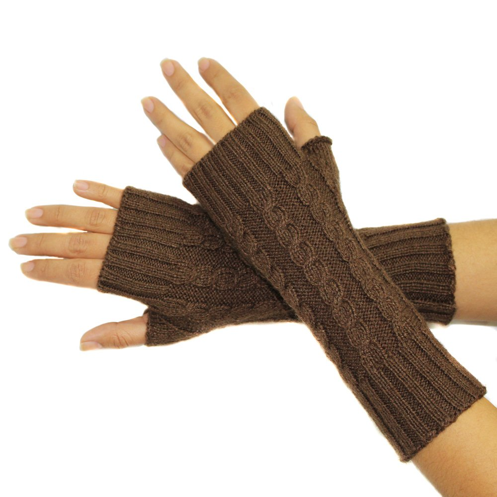 FINGERLESS MITTENS GLOVES Alpaca Wool made in PERU CELITAS DESIGN