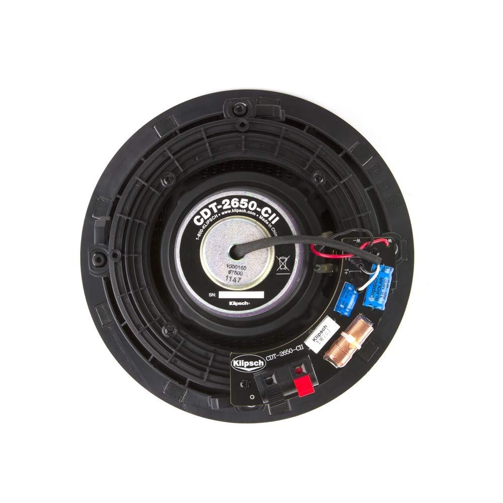Amazon.com: Klipsch CDT-2650-C II In-Ceiling Speaker - White (Each ...