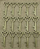 Cheap 40pcs Antique Skeleton Key Bottle Opener Bronze Wedding Favor Bridal Shower Gift Steampunk Decoration Birthday Part