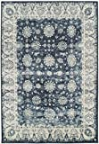 Premium Heavy-Duty Thick Traditional Area Rugs Oriental Distressed Rugs Vintage Carpet For Living Rooms on Clearance (Medium 5'x8′, Navy) Review