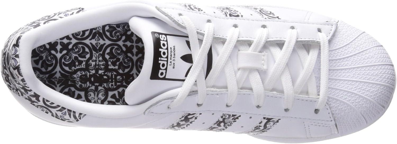 Adidas B27141, Chaussures De Basketball Homme Blanc Noir