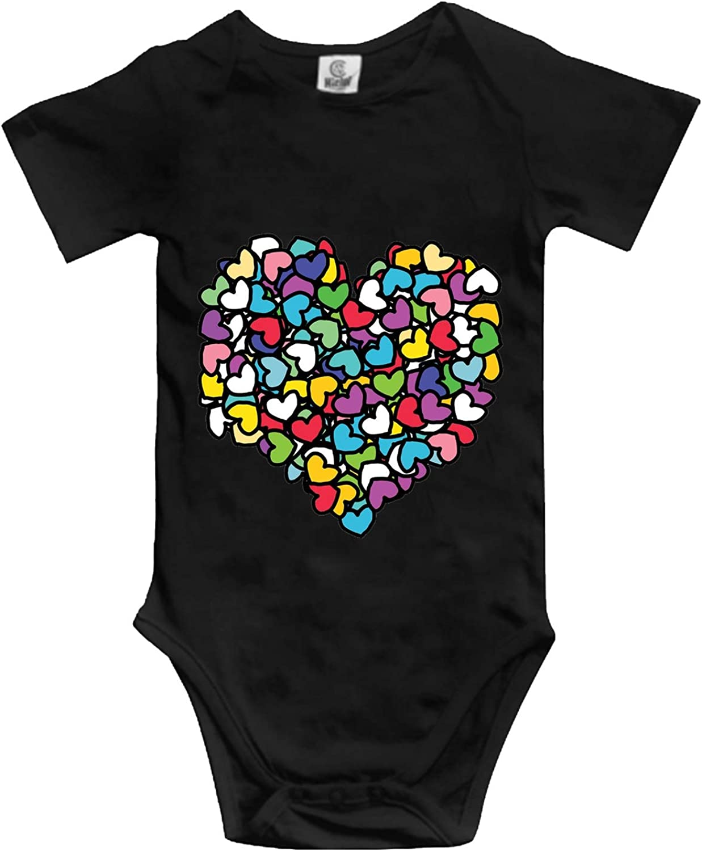 YPZOOS Cotton Space Corgi Print Newborn Infant Baby Romper Bodysuit