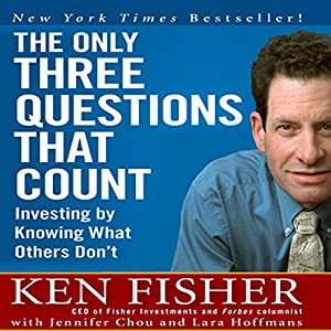 The Only Three Questions That Count Audiobook