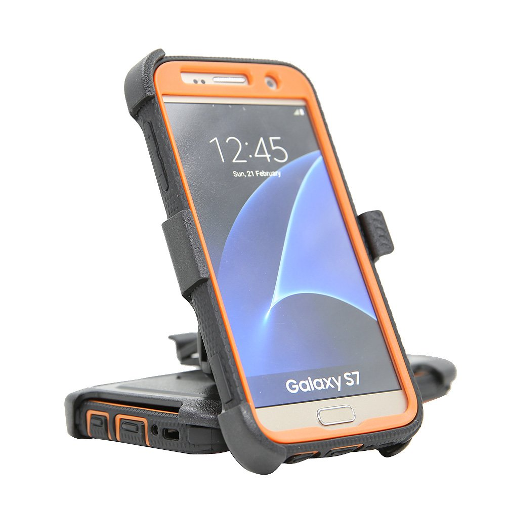 Amazon.com: Galaxy S7 CASE, telegaming Heavy Duty Hybrid ...